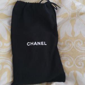 Chanel shoe bag dust cover